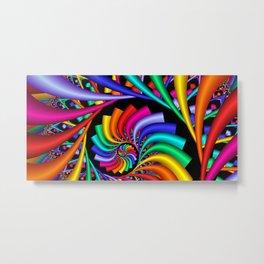 towel full of colors -1- Metal Print