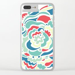 Morning Doodle Clear iPhone Case