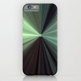Shades of Green Color Explosion iPhone Case