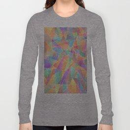 The Geometric Glass Shatter Long Sleeve T-shirt