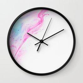 Splash Pattern Wall Clock