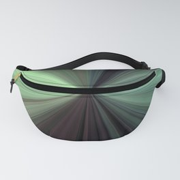 Shades of Green Color Explosion Fanny Pack