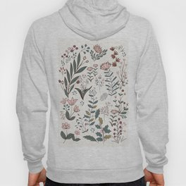 Winter Flowers II Hoody