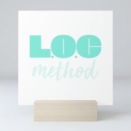 LOC Method Type [Green] Mini Art Print