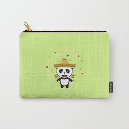 Panda Mexico Fiesta T-Shirt for all Ages D8y7v Carry-All Pouch