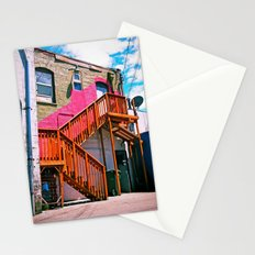 Alleyway architecture Stationery Cards