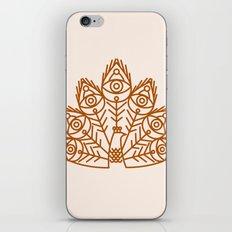 Cosmic Peacock iPhone & iPod Skin