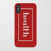 health iPhone & iPod Cases featuring Health by davzoku