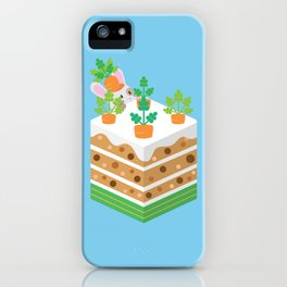 Carrot Cake iPhone Case