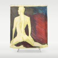robert farkas Shower Curtains featuring Robert by Azure Cricket