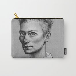 Portrait of Tilda Swinton Carry-All Pouch