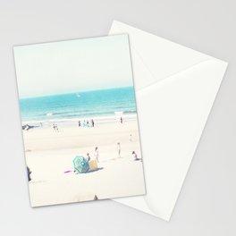 beach - happy life Stationery Cards