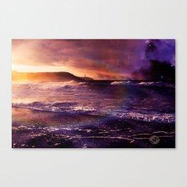 On the Horizon of the Infinite Canvas Print