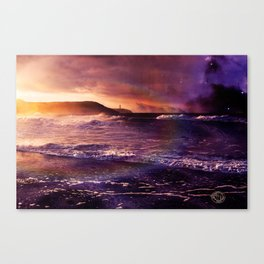 On the Horizon of the Infinite Canvas Print