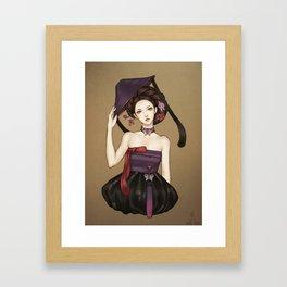 Korean Framed Art Print
