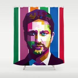 Gerard Butler Shower Curtain