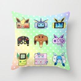 Evolution Games Throw Pillow