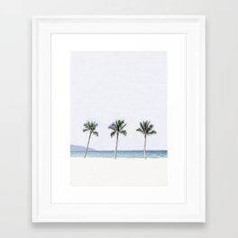 Palm trees 6 Framed Art Print