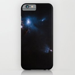 Hubble Space Telescope - Jets, bubbles and bursts of light in Taurus iPhone Case