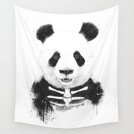 Zombie panda Wall Tapestry