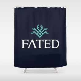 FATED : The Silent Oath - Logo Shower Curtain