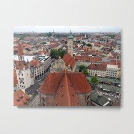 Munich - Ellie Wen Metal Print