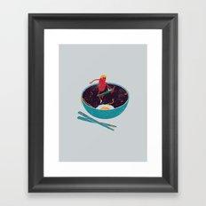 X-Food Framed Art Print