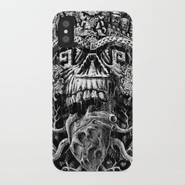 Aztec Skull iPhone Case