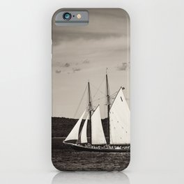 Sailing The Basin iPhone Case