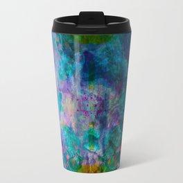 multicolored waves Travel Mug