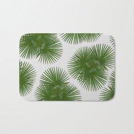 Fan Palm, Tropical Decor Bath Mat