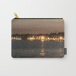 city lights across ocean Carry-All Pouch