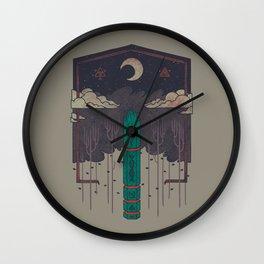 The Lost Obelisk Wall Clock