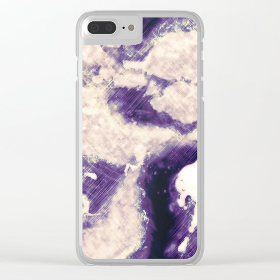 Abstract 45 Clear iPhone Case