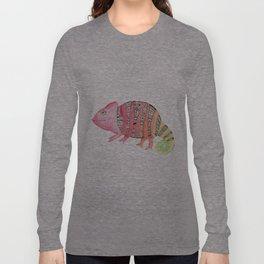 Curious Chameleon Long Sleeve T-shirt