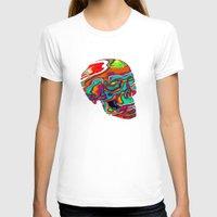 lsd T-shirts featuring LSD Skull by johannesart