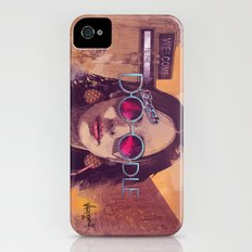 Welcome to the Fresh Doodle iPhone (4, 4s) Slim Case