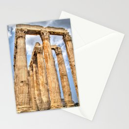 Temple of Zues Stationery Cards
