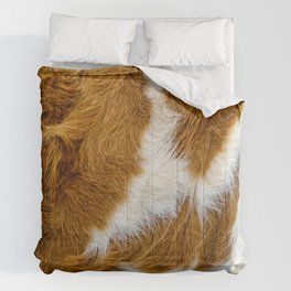 Cowhide. Cow Fur Background  Comforters