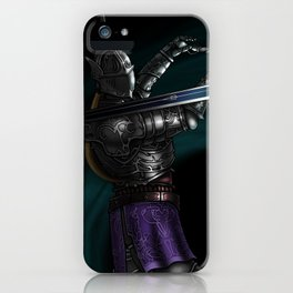 Demon's/Dark Souls: Penetrator vs Artorias iPhone Case