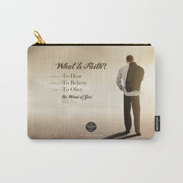 What Is Faith? Carry-All Pouch