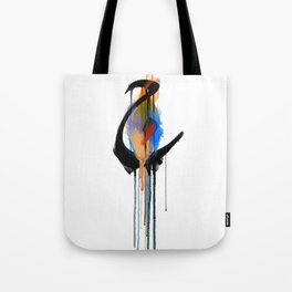 """Ha'a (The letter """"H"""" in English) Tote Bag"""