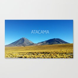 Atacama Desert - Chile Canvas Print