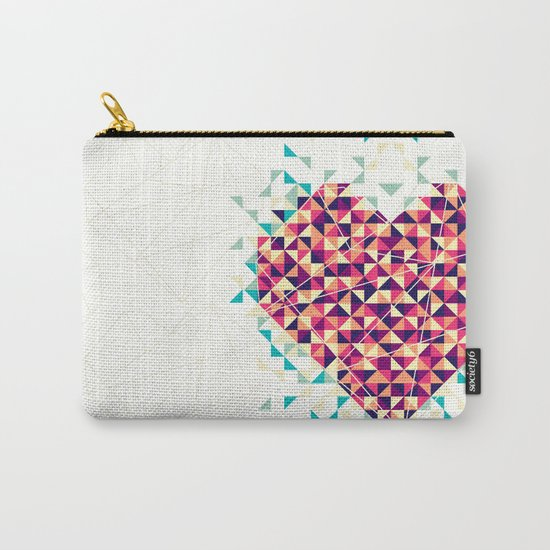 A heart is made of bits and pieces Carry-All Pouch