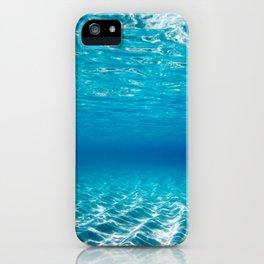 Aqua Blue Bliss iPhone Case