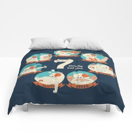 Cats Seven deadly Sins Comforters