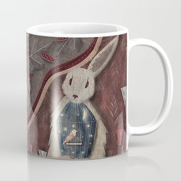 Chaising rabbit Coffee Mug