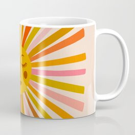 Sunshine – Retro Ochre Palette Coffee Mug