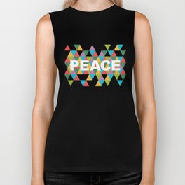 Peace Biker Tank
