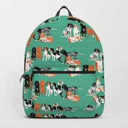 Coonhound row Backpack